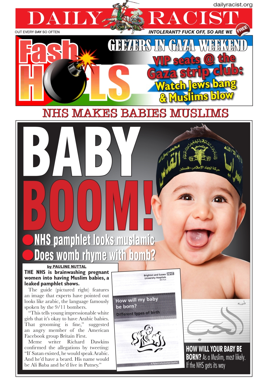 NHS breeding muslim babies