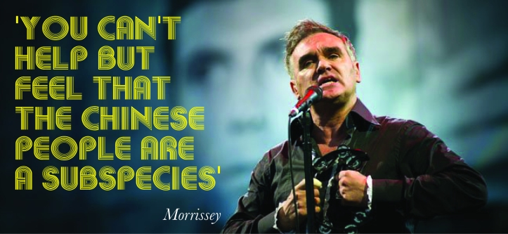 Image result for morrissey racist